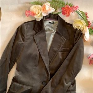 J. Crew Parke blazer women's size 4 Velvet/Cotton